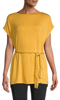 Karen Kane Grecian Belted Tunic Top