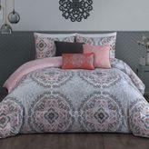 Steve Madden Positano 6-Piece Comforter Set in Pink