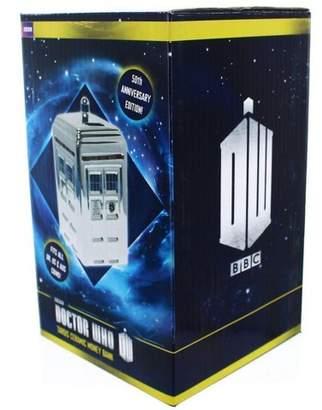 Doctor Who Seven20 Silver TARDIS Ceramic Money Bank