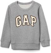 Gap Sherpa logo sweatshirt