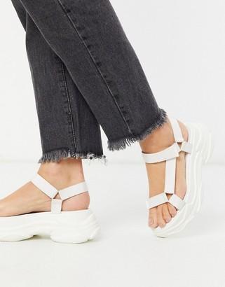 Raid Rania chunky sporty sandals in white