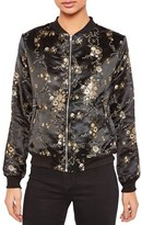 Missguided Women's Jacquard Bomber Jacket
