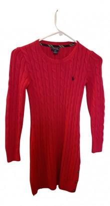 Polo Ralph Lauren Pink Cotton Dresses