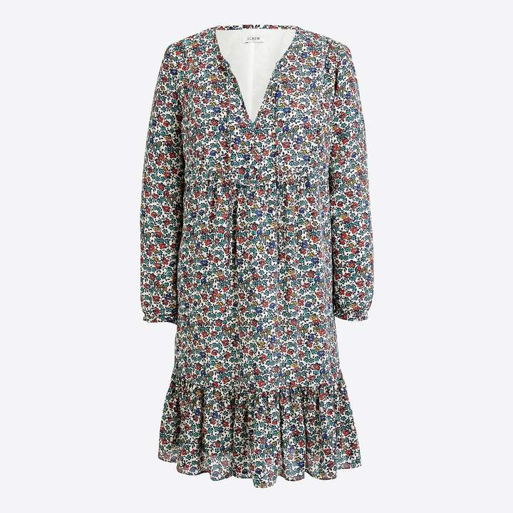 J.Crew Relaxed printed dress
