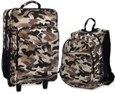 Bed Bath & Beyond O3 Kid's Backpack and Luggage Set - Camouflage