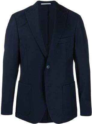 Eleventy Wool Single-Breasted Blazer