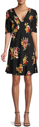 Free People Neon Garden Floral Dress