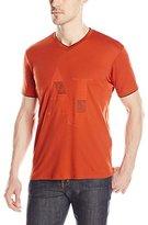 Armani Jeans Men's Logo V-Neck T-Shirt