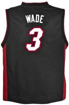adidas Boys 8-20 Miami Heat Dwyane Wade Team Color NBA Jersey