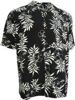 Good Life Mens Silk Hawaiian Shirt Camp Floral Hibiscus Casual (XL)