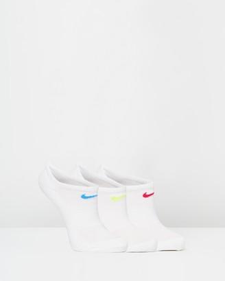 Nike 3-Pack Performance Cushion No Show Training Socks - Women's