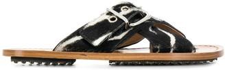 Marni Buckled Flat Sandals