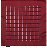 EEHC0024 Dark Red Black Checkered Microfiber Pocket Square Inspire For Husband Hanky By Epoint