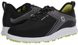 Foot Joy FootJoy Superlites XP (Grey/Black) Men's Golf Shoes