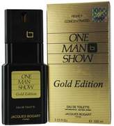Jacques Bogart One Man Show Gold By Edt Spray 3.3 Oz