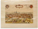 Bed Bath & Beyond Ancient Cities Walled Town Art