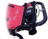Tike Tech Single Stroller Water Bottle Holder, Black by