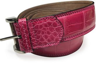 Zambezi Grace Men's Crocodile Leather Dress Belt