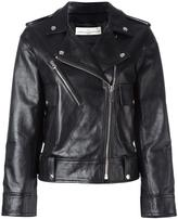 Golden Goose Deluxe Brand 'Golden' biker jacket - women - Calf Leather/Cupro/Viscose - S