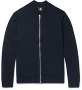 Paul Smith Merino Wool Zip-Up Cardigan
