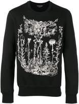 Alexander McQueen skeletor print sweatshirt