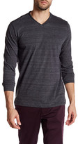Robert Barakett Montgomery Long Sleeve V-Neck Shirt
