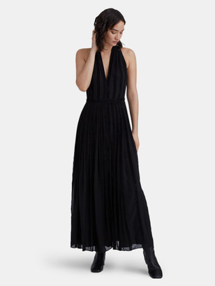 Club Monaco Textured Zigzag Dress