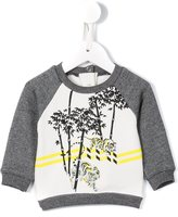Kenzo 'Bamboo Tiger' sweatshirt - kids - Cotton/Spandex/Elastane - 6 mth