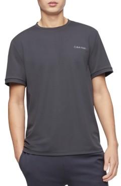Calvin Klein Men's Move 365 Logo Tipped Crewneck T-Shirt