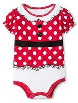 Disney Baby Girls' Minnie Mouse Bodysuit Red