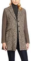 Luis Trenker Women's Rima Coat, Brown-Braun (Braun-Creme 75), UK