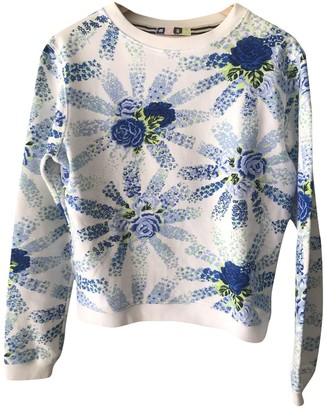 MSGM Blue Cotton Knitwear for Women
