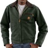 Carhartt Sandstone Detroit Jacket - Blanket-Lined (For Tall Men)