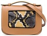 Stée snakeskin effect leather belt bag