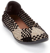 Bernie Mev. Catwalk Velvet Woven Stretch Flats Shoes - Women's