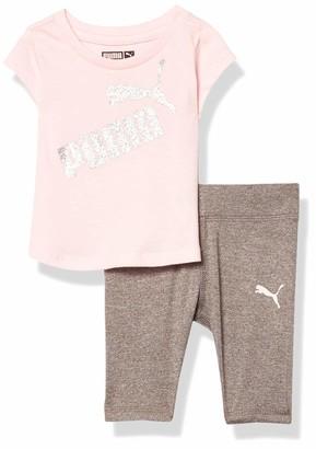 Puma Baby Girls' Tee and Legging Set
