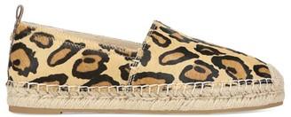 Sam Edelman Khloe Leopard-Print Calf Hair Espadrilles