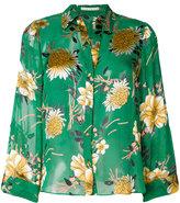 Alice + Olivia Alice+Olivia - floral print blouse - women - Silk/Polyester/Spandex/Elastane/Viscose - XS