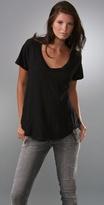 Raglan Sleeve Scoop T-Shirt
