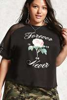 Forever 21 Plus Size Forever Or Never Top