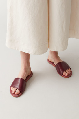 Cos Leather Sliders