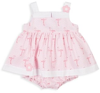 Florence Eiseman Baby Girl's Flamingo Floral Dress