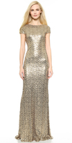 Collection Sequin Cowl Back Gown
