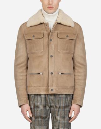 Dolce & Gabbana Sheepskin Jacket
