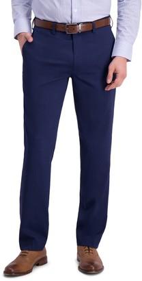 Louis Raphael Micro Stripe Flat Front Slim Fit Dress Pants