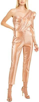 Elisabetta Franchi Metallic Jumpsuit