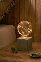 Urban Outfitters Brittany Firefly Concrete Table Lamp