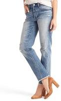 Gap ORIGINAL 1969 vintage straight destructed jeans