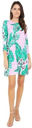 Lilly Pulitzer Ophelia Dress (Onyx Reef Madness) Women's Dress