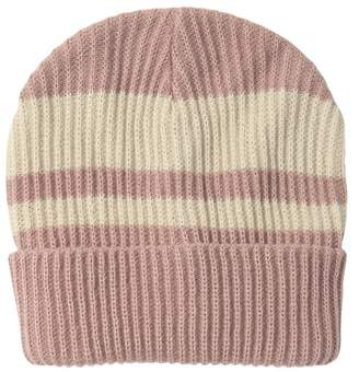 Melrose and Market Stripe Knit Beanie
